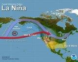 A La Nina pattern may bring storms this winter.