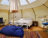 Glamping is for those who want comfort while camping.