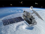 The Global Precipitation Measurement Core Observatory expands climate studies. Illustration: NASA.