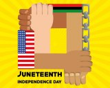 Juneteenth marks the end of slavery.