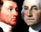James Monroe and George Washington could claim a landslide.