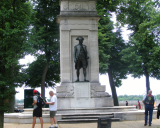 Of 217,000 service members in the Revolutionary War (1775-83) 4,435 died in battle, according to the Department of Veterans Affairs. The above memorial, in Washington, D.C., depicts famous American naval officer John Paul Jones (1747-92).