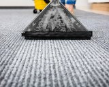 The substance that keeps carpet from staining may be dangerous.