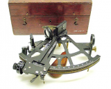 A sextant used during World War II.