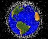 Space debris poses a threat to spacecraft, scientists say.