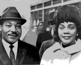 Martin Luther King Jr. and his wife, Coretta Scott King, in 1964.