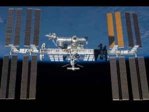 The International Space Station --NASA image.