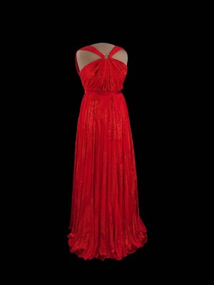 """The Smithsonian's National Museum of American History will display first lady Michelle Obama's second inaugural gown in the center of the museum's popular exhibition, """"The First Ladies."""" Photo: Hugh Talman, Smithsonian Institution."""