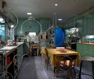The kitchen of cookbook author Julia Child. Photo courtesy of the Smithsonian's National Museum of American History.