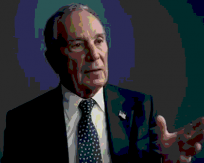 Bloomberg has taken on environmental issues.