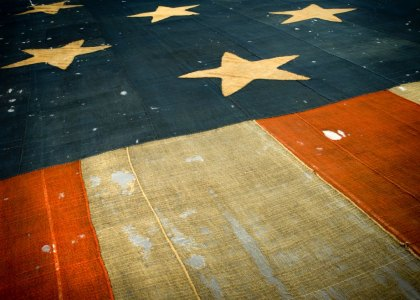 The flag that inspired the The Star Spangled Banner.