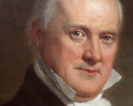 James Buchanan's presidential portrait.
