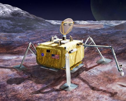 A lander would search for signs of life on Europa