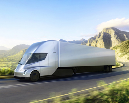 Tesla's Semi can go 300 miles between charges.