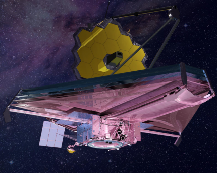 The James Webb Space Telescope is set to launch in 2020.