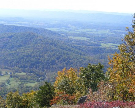Cell service in Virginia's Shenandoah National Park is unpredictable.