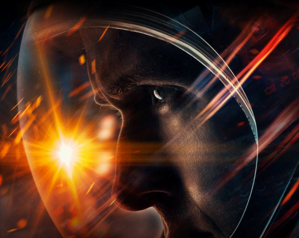 "Ryan Gosling depicts Neil Armstrong in ""First Man."""