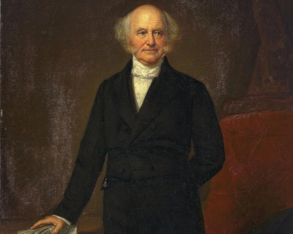 Martin Van Buren was a so-so president, but a talented politician.